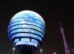 首届广州国际灯光节亮点解析