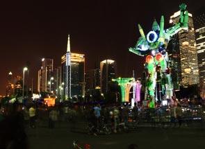 第三届广州国际灯光节亮点解析