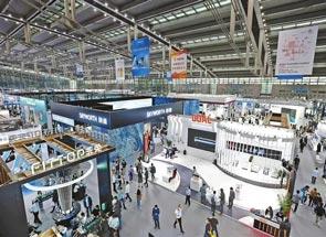 第九届中国电子信息博览会在深圳会展中心开幕
